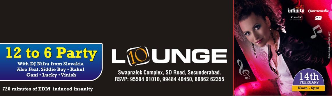 Valentine Day @ 10 Lounge & Night Club on 14th Feb