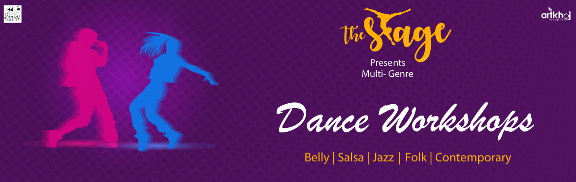 Book Online Tickets for Multi-Genre Dance Workshops ( The Stage , Bengaluru. The Stage is one of a kind multi-genre dance festival with five different dance forms, taught and performed by the prominent artists in Bangalore. The motto of the Dance Festival and Workshops is to build a community of dancers and dance enthusiasts