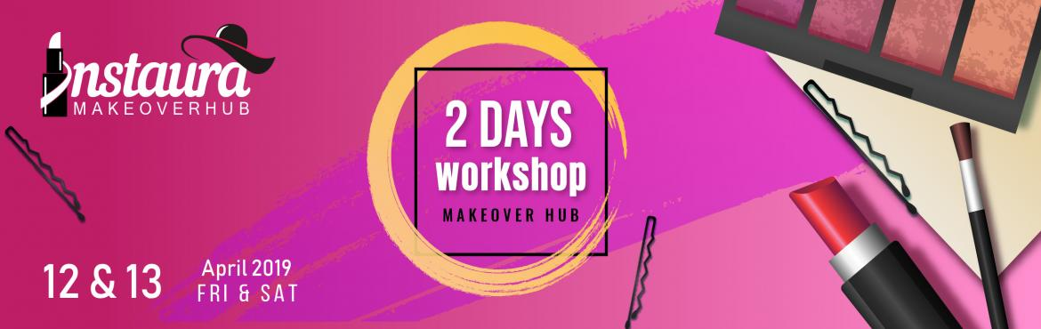 Book Online Tickets for 2 Days Workshop Personalized and a Hands, Hyderabad. 2 Days Workshop Join Professional Makeup Tutorial by Pro- Makeup Artist in the town for getting an experience like never before.  Date & Time : 12 & 13 April 2019 (10.00 am - 3.00 pm)  Venue: INSTAURA MAKEOVER HUB, CMOF Global, 5th Floor, Diy