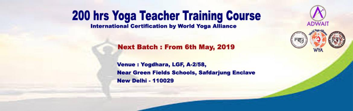 Book Online Tickets for 200 hrs Yoga Teacher Training Course, New Delhi.  This is globally recognized and accepted 'Yoga' as the Science and Art of physical, mental, emotional, behavioral and spiritual well-beings. Apart from wellness, Yoga is the method to connect oneself with the Supreme Consciousness.