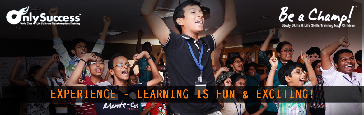 Book Online Tickets for Be a Champ - CAMP 1 (April 27th - 30th), Chennai. Unleash Your Child's Potential... ...and empower them to be Super Achievers in School and in Life! Be A Champ is a 4 day training program for children between 9-17 yrs. CAMP I DATES: April 27, 28, 29 & 30