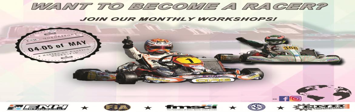 Book Online Tickets for Newcomer Karting Workshop - For every Mo, Hyderabad. The Newcomer Workshop organized by ENH-Motorsport in collaboration with Hasten Go-Karting in Hyderabad is a unique opportunity to be part of a program that is specially designed for Motorsport enthusiast with the aim to make Karting more accessible t