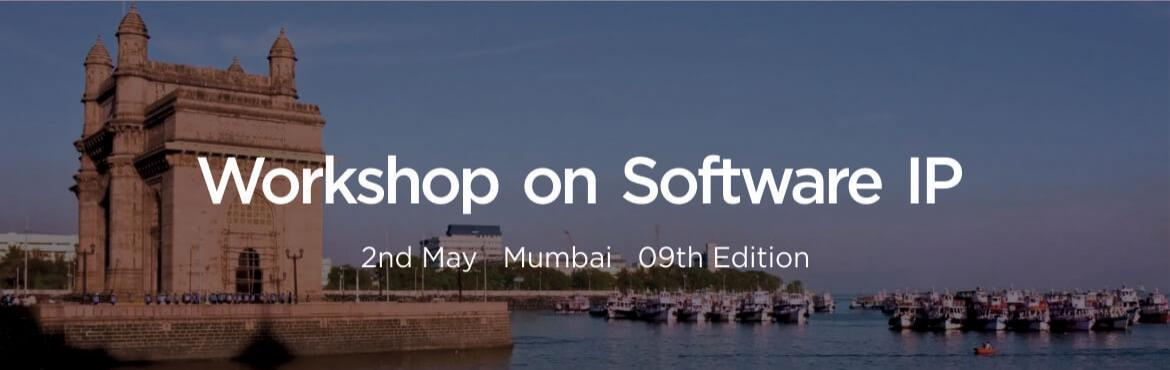 Book Online Tickets for Workshop on Software IP - Corporate, Mumbai. The Workshop on Software IP will be held atMumbaion2nd May 2019.
