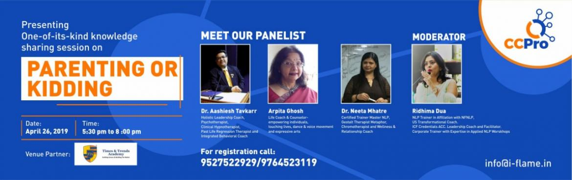 Book Online Tickets for CC Pro Pune Chapter - Expert Panelist Di, Pune. What is CC Pro? CC Pro Pune Chapter is an event & networking based platform where varieties of trainers, freelancers, coaches, teachers, educators and more.. are called to speak on a defined and suitable topic. The idea is to connect with people