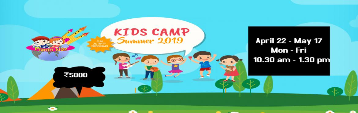 Book Online Tickets for Summer Camp 2019, Hyderabad.   Summer Fun   Above 4years 10:30 am to 1:30 pm Mon-Fri April 22nd, 2019 to May 17th, 2019      Fee: Rs.5000    Pottery & Clay Modeling Handwriting improvement  Live Painting (Sketching..etc) Non-Fire Cooki