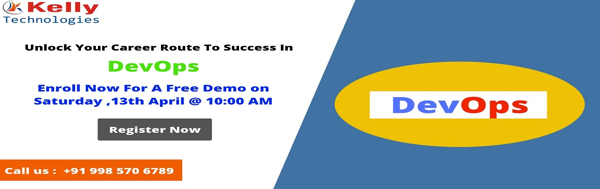 Book Online Tickets for Enroll For Much Awaited Free Demo On Dev, Hyderabad.  Course Overview  DevOps is the most buzz word which has emerged the last couple of years. It has gained a wide range of interest in the IT community that acquires speed to market and continuous service deployment. DevOps Training In Hyderabad