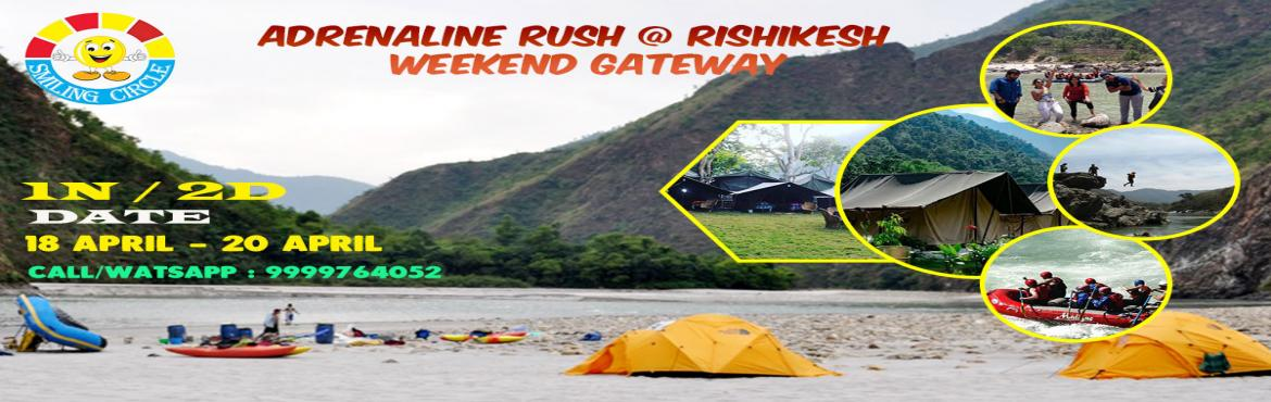 Book Online Tickets for Adrenaline RUSH @ Rishikesh | 2D/1N Delh, New Delhi. Adrenaline hits you when you think of Rishikesh... Rishikesh has been a part of the legendary \'Kedarkhand. Rishikesh means \'Lord of the Senses\' Gods and Rishis always considered Rishikesh for meditation/peace /Ascetism (tapasya ) to connect