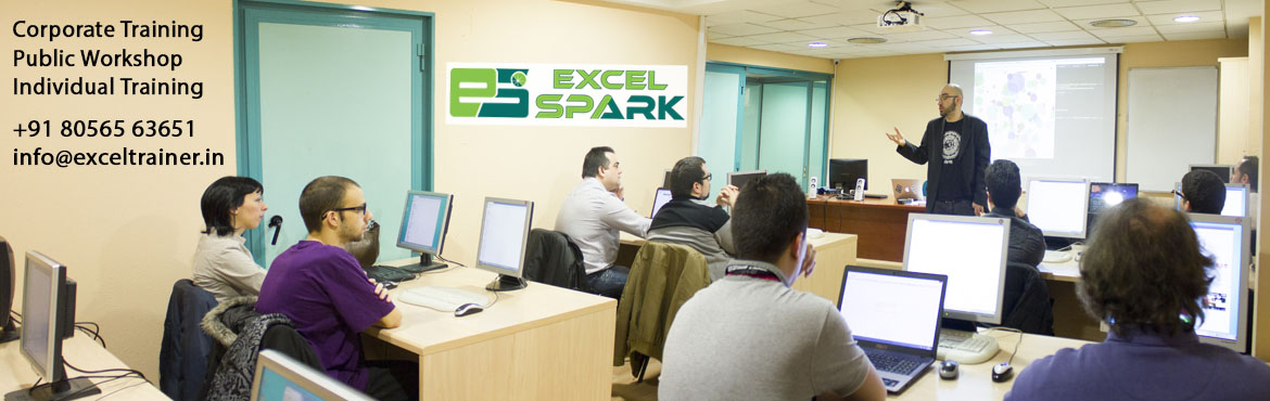 Book Online Tickets for Advanced Level Excel Training in Chennai, Chennai. Exclusive AdvancedExcel Training inChennai Excel SparkAdvanced Excel Training will really show you how to make Excel work for you. The course is aimed at fairly experienced Excel users whom need to learn more complex functions, nest
