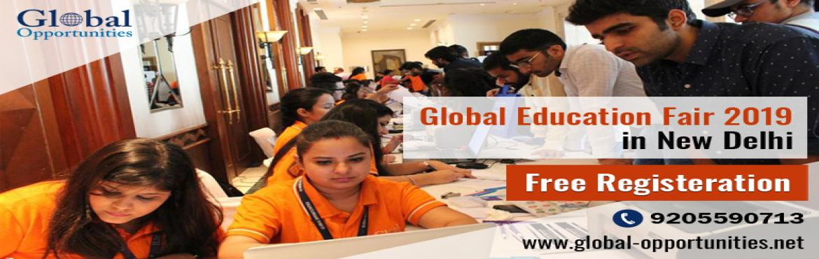Book Online Tickets for Attend Global Opportunities Global Educa, Delhi. Your dreams to study abroad are just a touch away! Global Education Fair 2019 is coming to your city from 27th April to 12th May 2019. Mark your calendar and avail application fee waivers, scholarship and professional career guidance. Meet university