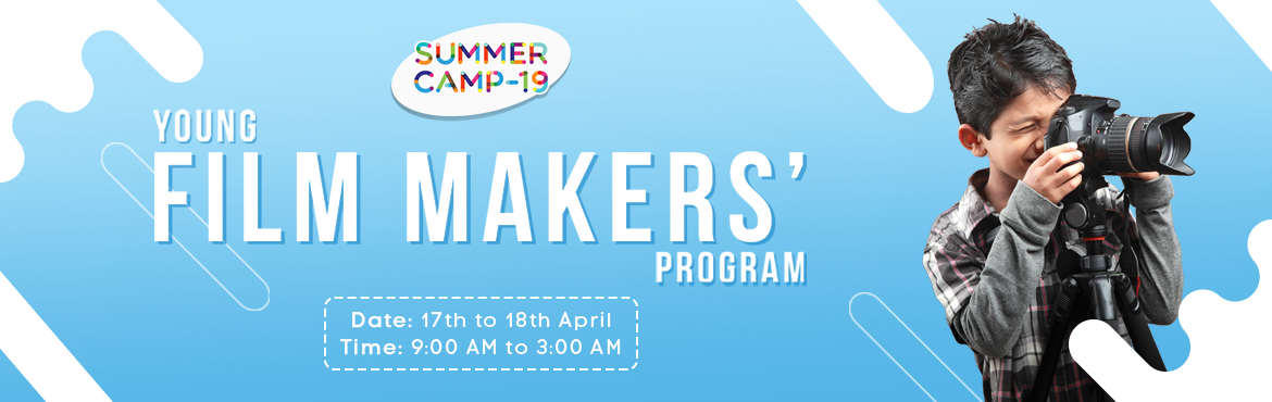 Book Online Tickets for Young Film-makers Program - Jubilee Hill, Hyderabad. Metamorphosis isorganising India\'s largest Summer Camp and is all set to provide week-long courses on Entrepreneurship, Policy-making and Film-making in 15+ centres in Hyderabad and many more cities. Beat the heat with us and let\'s make ideas