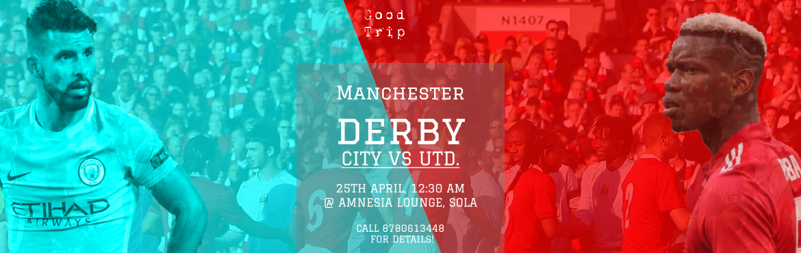 Book Online Tickets for Manchester United Vs Manchester City : L, Ahmedabad.  The Great Manchester Derby is here! The derby is crucial at this point of the season, with just three games following the clash between United who are chasing a top four finish, and City, who are title challengers. Watch live with us