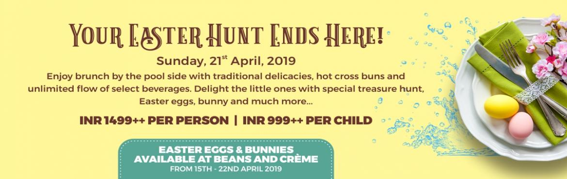 Book Online Tickets for Easter Brunch at Radisson Mumbai Andheri, Mumbai. Spend a joyful Easter over sumptuous brunch by the pool side and savour traditional delicacies, hot cross buns and unlimited flow of select beverages. Delight the little ones with special treasure hunt, Easter eggs, bunny and much more….