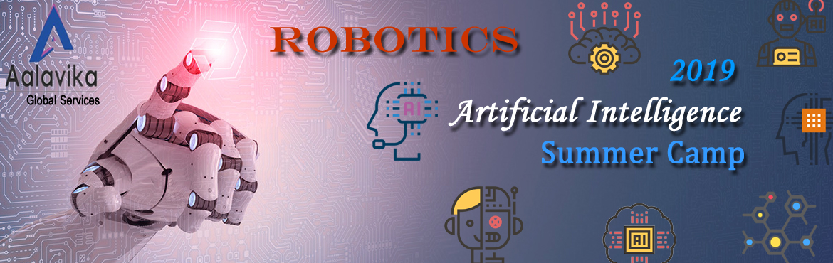 Book Online Tickets for Robotics (Summer Camp) Internship, Hyderabad. Robotics includes Mechanical, Electrical, Electronics, S.T.E.A.M and Programming, which encourages students to connect these disciplines. Students are asked to create their own Robot and in this process, they begin to learn through doing. We can give