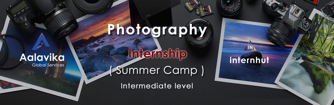 Book Online Tickets for Photography (Summer Camp) Internship, Hyderabad. A story failed to put in words. Live life, click pictures cherish memories. A dream that happens when wings attached. Come join our exciting internship program.