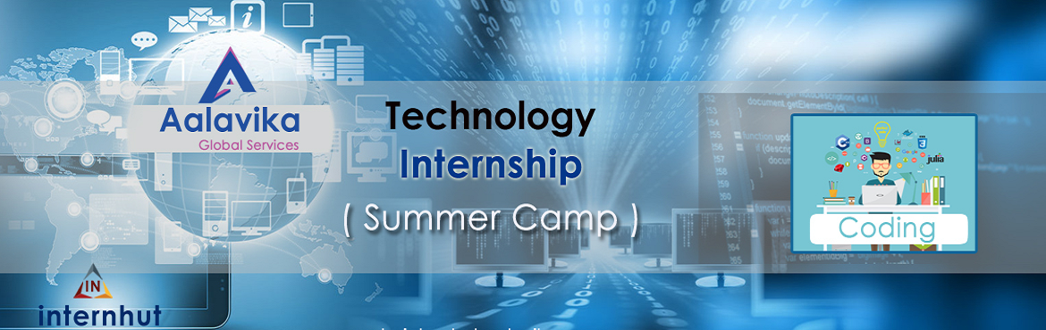 Book Online Tickets for TECHNOLOGY (SUMMER CAMP) INTERNSHIP - IN, Hyderabad.           The world is changing with technology, it's not that we use technology. We live technology. Every generation needs a new revolution and this one is ever evolving. You are awesome at analytical thinkind? You found the right program.