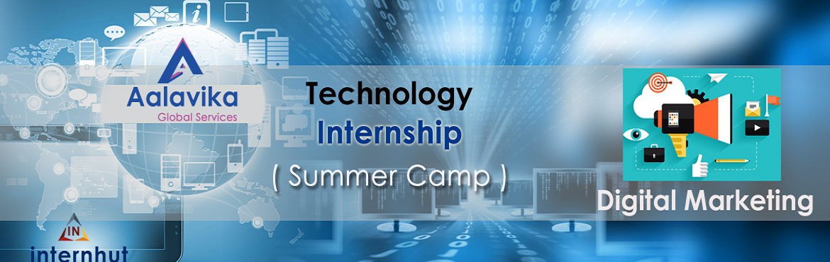 Book Online Tickets for TECHNOLOGY (SUMMER CAMP) INTERNSHIP - DI, Hyderabad.           The world is changing with technology, it's not that we use technology. We live technology. Every generation needs a new revolution and this one is ever evolving.