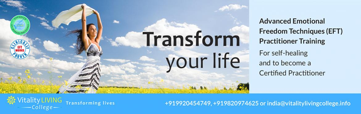 Book Online Tickets for EFT (EMOTIONAL FREEDOM TECHNIQUES) Advan, New Delhi. Advanced Practitioner EFT Level 3 Training Program with Certification Delhi Dates Module 1: Advanced Practitioner Training: February 14-16th 2020 (Fri-Sun) Module 2: For Certification: TBD  *Module 2 is for the Professional Certificati
