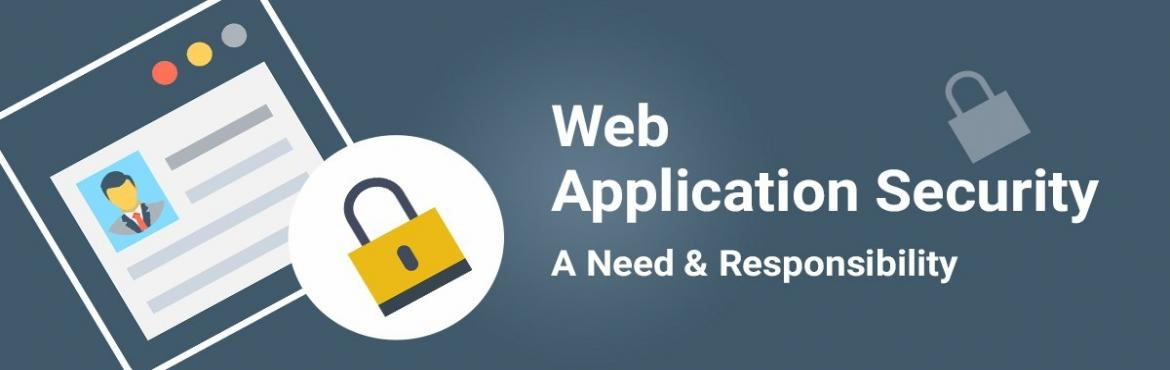 Book Online Tickets for Web Application Security Training In Del, Delhi.  Web Application Security Training In Delhi Web Application SecurityCLASSROOM TRAINING & ONLINE TRAINING AVAILABLE Bytecode Cyber security provided Web Application Security Training In Delhi.You need to have basic information about co