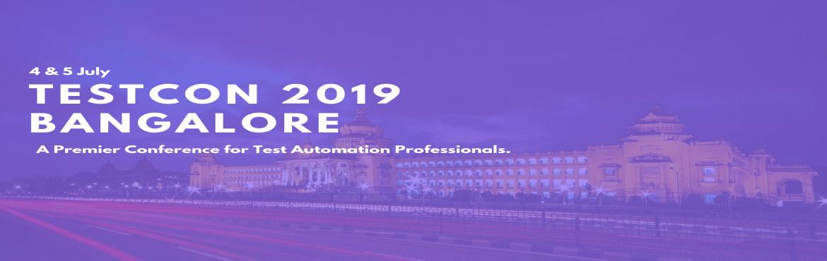 Book Online Tickets for TESTCON 2019 Bangalore, Bengaluru.  Testcon 2019 is a 2 day event designed to deliver the cutting edge Test Automation technologies. We are back at home base, post full-house events at Melbourne, Sydney and Chennai. Here is our line up for namma Benagluru.  Testcon day1 lets
