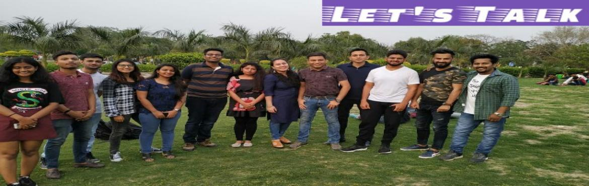 Book Online Tickets for Lets Talk Speak to Lead, New Delhi. Let\'s Talk is a community, which provide platform to remove the fear and speak confidently from the heart in the public domain. We are on a mission and vision to create a society in which everyone can express their thought in an effective manner to