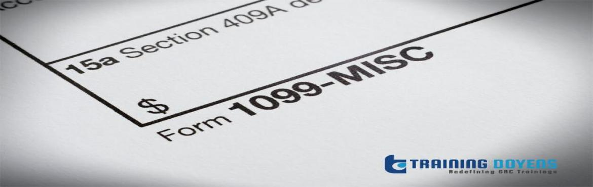 Book Online Tickets for 2019 updates on 1099-MISC Forms: latest , Aurora. OVERVIEW The changes in reporting requirements for Form 1099-MISC can be confusing and the IRS has recently made changes to reporting, error correction, and filing due date requirements. Our upcoming webinar discusses the latest updates includin