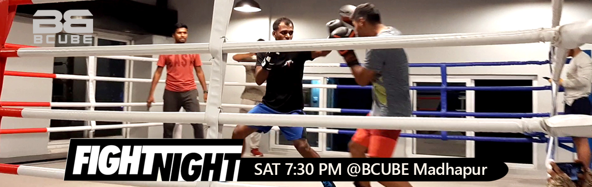 Book Online Tickets for BCUBE Fight Night, Hyderabad.  Big Bang Promotions is a boxing promoting start-up. We thrive on the buzz around boxing. We hustle towards finding the right talent to make exciting fight match-ups to entertain the fight fans and to bring the sport into lime light. Big Bang P