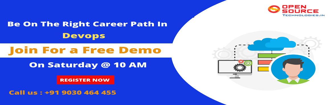 Book Online Tickets for DevOps Course In Hyderabad, Hyderabad.   Its Time To Attend Free Demo on DevOps Training By Pioneer Domain Experts At Open Source Technologies On 27th April 2019 10 AM, Hyderabad Attend For The Exclusive Free Demo Session On DevOps Training By Experts At Open Source Technologi