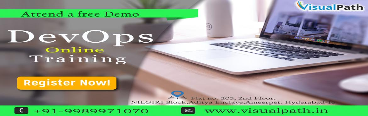 Book Online Tickets for Best Devops Training in Hyderabad | Devo, Hyderabad. Visualpath provides DevOps Training and Services with the tailored-fit result for the Database Automation Deployments, Continuous Integration Deployments of Cloud native and Microservices Applications with Docker and Kubernetes. Get DevOps Training w