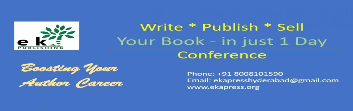Book Online Tickets for Write a book , Publish it and Make Money, Hyderabad. Are you a writer? Looking to publish your book? Want to make a mark as an author? Workshop for writers! Are you an author and looking to publish your book? This workshop is for you. Our Experts will live demonstrate how to go about publishing y