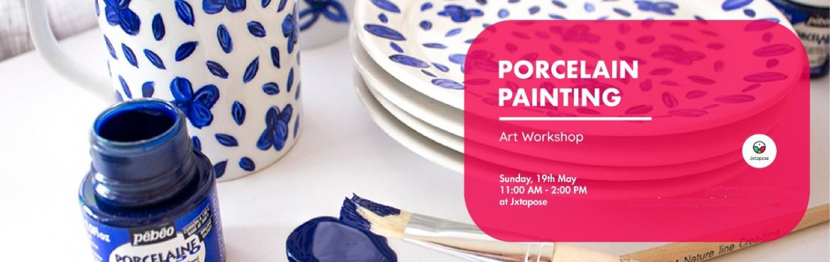 Book Online Tickets for PORCELAIN PAINTING WORKSHOP, Hyderabad. Porcelain Painting, also known as over-glaze painting is an art of turning white porcelain objects into colorful artifacts. This painting involves mineral pigments blended with flux (glass powder) and oils. After painting, the porcelain objects are f