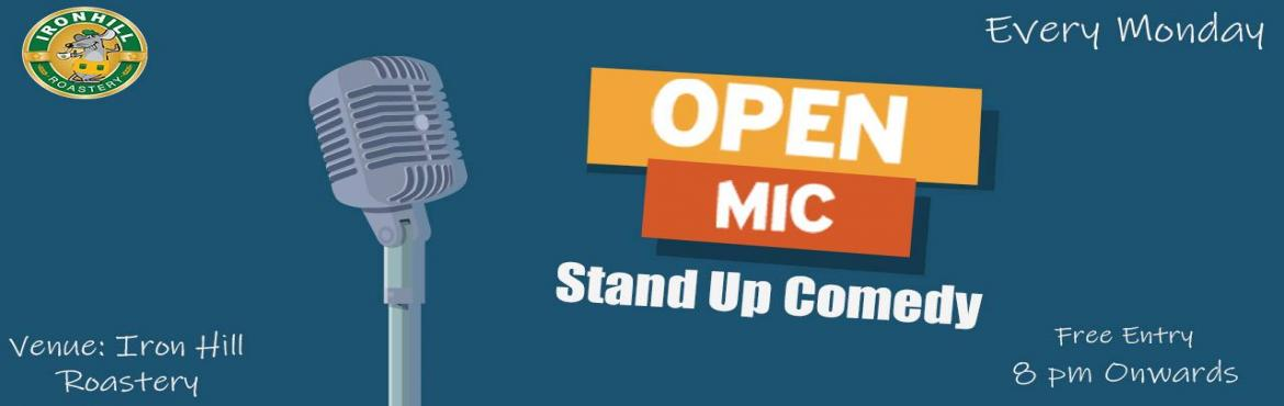 Book Online Tickets for STAND UP COMEDY OPEN MIC, Hyderabad. A day without laughter is a day wasted! Why waste your Monday? Come and laugh with us, eat with us but pay your own bill. (THE ENTRY IS FREE)For those interested in trying comedy can come to the venue directly and register.