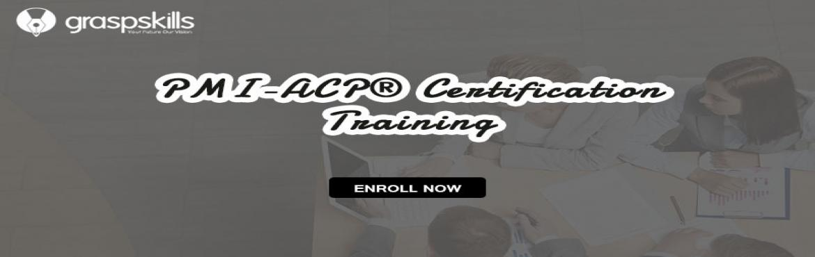Book Online Tickets for PMI-ACP CERTIFICATION TRAINING COURSE IN, Bengaluru. Details Date: Jun 12 - Jun 14  2019 Standard Price: INR 17999  Early Bird Price: INR 14999  Early Bird Date: 06th Jun 2019 Time: 7:30 PM - 3:30 AM   Course Description The Project Management Institute's-Agile Certified Practitioner Certifi