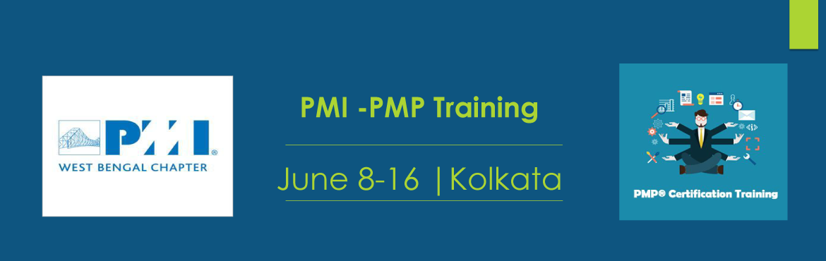 Book Online Tickets for PMI West Bengal Chapter - 4 days PMP Pre, Kolkata. PMI West Bengal Chapter is glad to announce 4 days PMP Preparation program in Kolkata on [ 8th, 9th, 15th, 16th June 2019]. This is a flagship course offering from PMI West Bengal Chapter in line with PMBOK 6th Edition. We continue to guide you throu