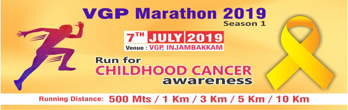 Book Online Tickets for VGP Marathon 2019, Chennai. Dear Sir/Mam,   7th July 2019: VGP Marathon event got cancelled due to some unfortunate incidents and the amount will be refunded within 3 to 5 workings days. for any queries email at marathoneventsinfo@gmail.com