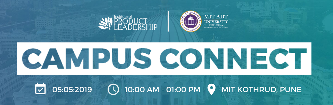 """Book Online Tickets for Campus Connect - Pune, Pune. 5th May 2019 