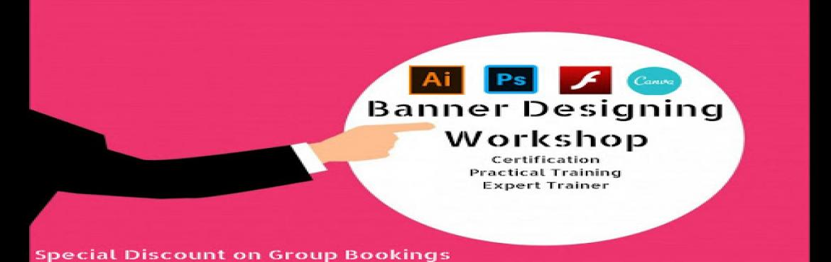 Book Online Tickets for Banner Designing Workshop, Delhi. All Hands Learning Session: Boot Camp Do you Know the Impact of Visuals on the purchase? Visuals can bring more value inBusiness Presentations. Are youInterested to learnthe skills from someone who isa Certif