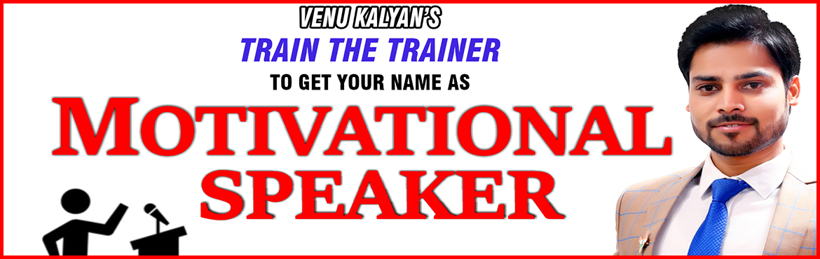 Book Online Tickets for TRAIN THE TRAINER BY MR.VENU KALYAN , Hyderabad. ABOUT THE EVENT UNIK LIFE Presents Leading ProgramTrain The Trainer by Mr.Venu Kalyan & TeamOn 24th, 25th & 26th MAY 2019 from 09 AM to 06 PMAt Leonia Holistic Destination (5 Star) Resort, Shameerpet, R.R.Dist.  Package: Rs.15,000/- (3d