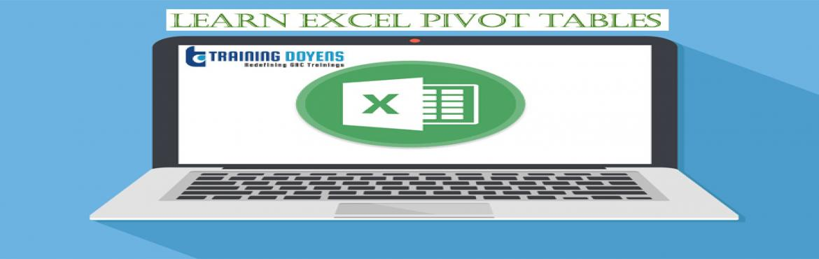 Book Online Tickets for Excel - Pivot Tables 101: Building a Rep, Aurora.  OVERVIEW Pivot Tables are one of the most powerful tools in Excel's data analysis andBusiness Intelligence(BI) armory. With just a few clicks of the mouse (and no complicated formulas!) you can quickly and easily build the re