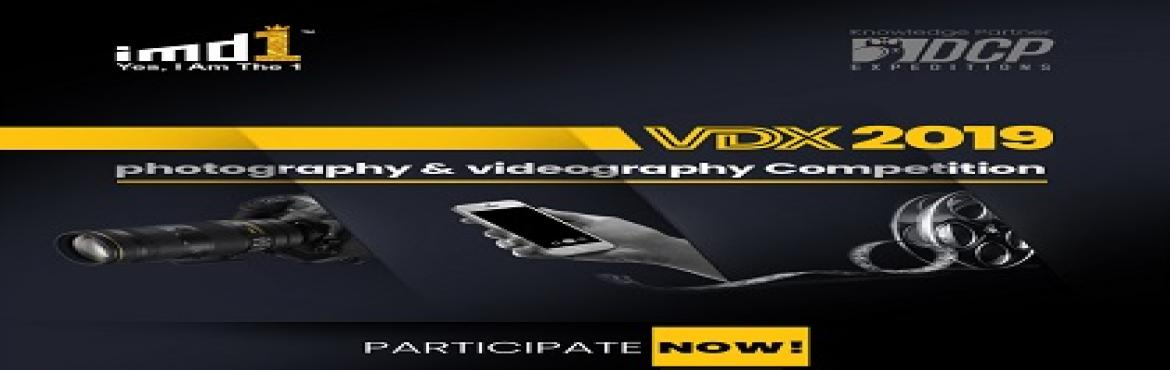 Book Online Tickets for Visual Digital Xtravaganza, 2019, Vijayawada. imd1 brings to you India's largest digital photography and videography competitions – Visual Digital Xtravaganza, 2019 This competition is  open  for  user  who  is  a  resident  of  India