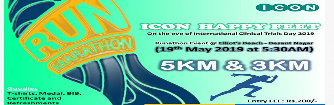 Book Online Tickets for ICON HAPPY FEET, Chennai. About the event 20th May is International Clinical Trials Day celebrating the anniversary of the first clinical trial by James Lind in 1747 into the causes of scurvy. On this occasion, we would like to invite everyone to attend this event to cre