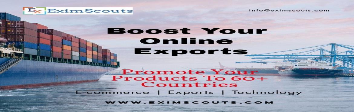 Book Online Tickets for Learn Online Retail Export / Cross Borde, Hyderabad. Have you wondered why you are not able to gain success with B2B/Offline/Traditional Export? Yes! Because it takes considerable amount of Time, Money, Risk, Credit Period and Effort to gain success in Traditional Export. So where to start? I am