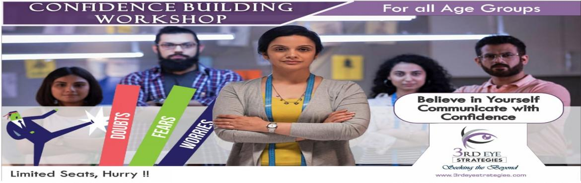 Book Online Tickets for Confidence Building, Mumbai. Do the feelings of self-doubting, uncertainty, hesitancy, insecurity, shyness, unsureness, meekness, etc. keep over-powering you in several important situations? It might be making life miserable too, be it personal or in career. Do you wish to be th