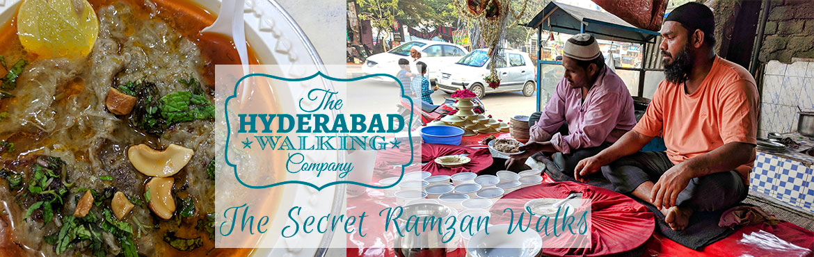 Book Online Tickets for The Third Secret Ramzan Walk, Hyderabad.  Join us for a quintessentially Hyderabadi experience as we eat and drink our way (a dozen drinks and dishes in seven places!) through the the Charminar area. With Ramzan approaching, the lanes around the Charminar are transformed into one giant