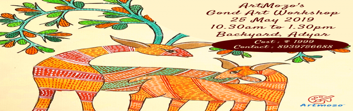 Book Online Tickets for Gond Art Workshop, Chennai. Gond Paintings are a form of painting from folk and tribal art that is practiced by one of the largest tribes of India. Reviving one of the very old Arts of Tribes the \