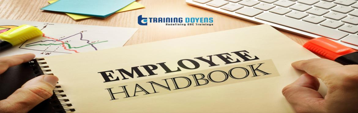 Book Online Tickets for Developing Effective Employee Handbooks:, Aurora. OVERVIEW Employee handbooks have become a valuable tool in providing important information to employees. Handbooks describe what employers expect of their employees, and what employees can (should) expect from their employers.Handbookspro