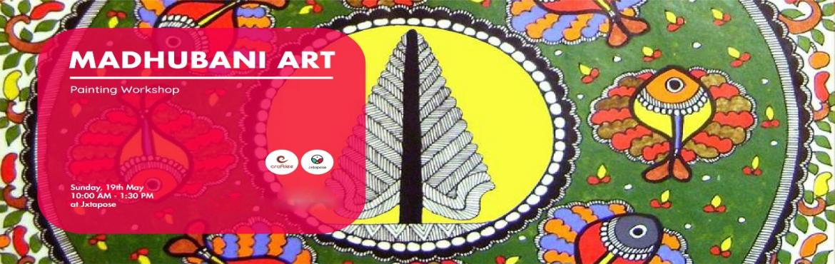 Book Online Tickets for MADHUBANI ART WORKSHOP, Hyderabad. Let's welcome Craftiee again on the weekend of 19th May where they will be introducing you to the age old art of Madhubani. Madhubani or Milthila Paintings were practiced in the Mithila region, India and practitioners used fingers, twigs, match