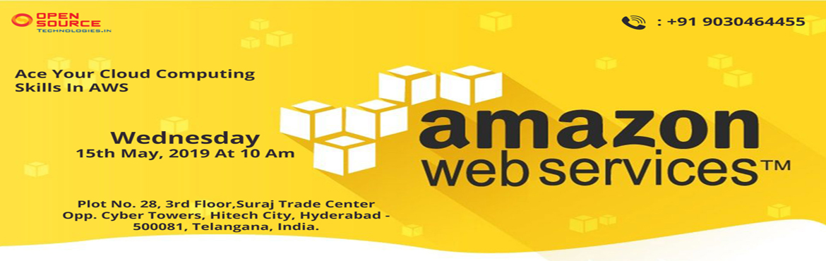 Book Online Tickets for Attend Free Demo On AWS Training-To Scal, Hyderabad. About The Demo- The technology of Amazon Web Services AWS has emerged out becoming a dominant technology ruling the IAAS market share. Over the years, AWS Cloud Computing has turned out becoming a major Infrastructure which opens up the new flexibili