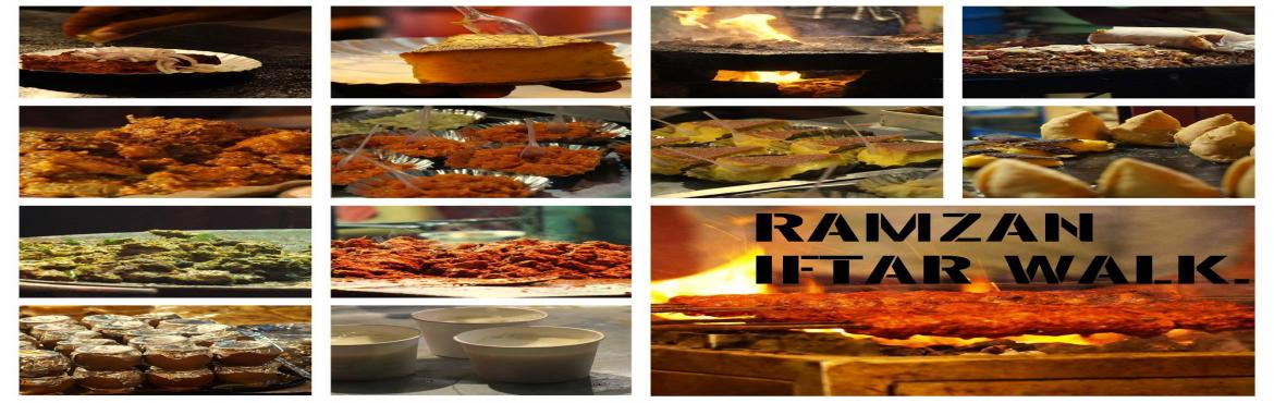 Book Online Tickets for Ramzan Iftar walk in Frazer town. , Bengaluru. Join us on this exclusive Ramzan Iftar party in Fraser town, where our guests get to feast on a spread consisting of more than 12-14 different courses of Muslim cuisine from different parts of the country.Some of the dishes available to taste are Har