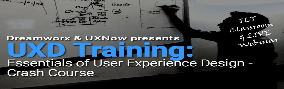 Book Online Tickets for Essentials of User Experience Design Cra, Chennai. This is a 1 day paid training ( 9.30 am - 5.30 pm IST). Both ILT Classroom @ Chennai and ILT Webinar held at the same time. Registrations close on EOD 25th May, Thursday - 11.30 p.m. In this workshop, the participant will understand all the essential