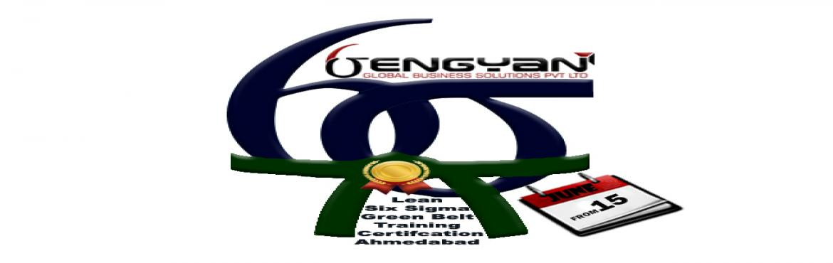 Book Online Tickets for Lean Six Sigma Green Belt Classroom Trai, Ahmedabad. GenGyan announces Accredited Lean Six Sigma Green Belt Certification Classroom Training atAhmedabad from 15thJune. Master Black Belt (Champion)Shylesh Sethia who comes with 26 years of experience and has a very strong forte in Lean Six Si